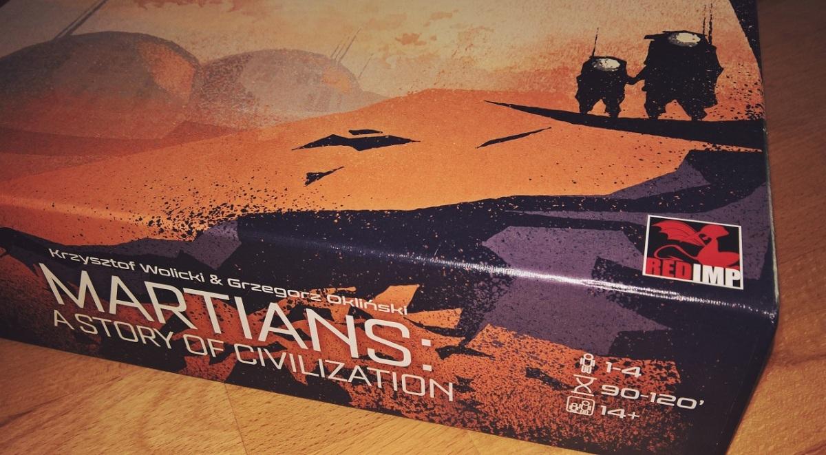 Martians - noch eine Kolonialisierung des Mars